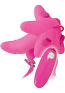 Mini G Spot Strap On Waterproof Pink