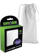 Safe Sex Antibacterial Toy Bag - Medium - White