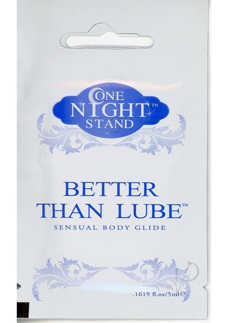 One Night Stand Better Than Lube Sensual Body Glide 5 Milliliter